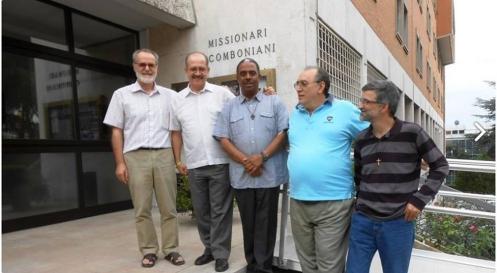 Nuevo Consejo General de los Misioneros Combonianos